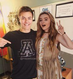 Peyton Meyer and Sabrina Carpenter