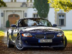 BMW Z4 Alpina Roadster S - just need the right numbers....
