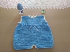 Pelele , enterizo o jardinero a crochet 1ª parte #tutorial #diy - YouTube