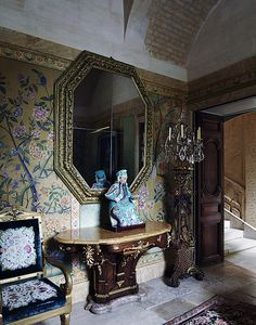 Valentino's apartment , Paris , France
