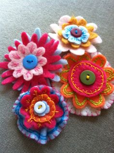 DIY  instructions from Melissa Marro, aren't they pretty!?