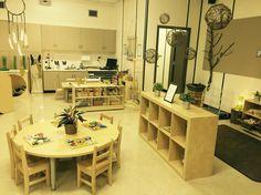 Minimalist Early Learning Classroom