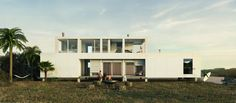 Surfer House - Beac House - Tek Haus  Sustentable  Arquitectura modular