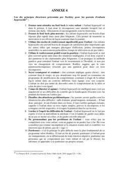 Les 10 principes directeurs  www.tdah.be
