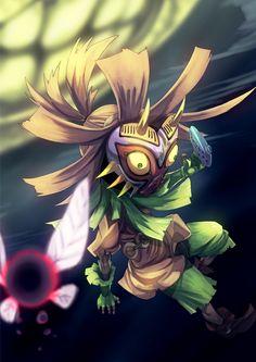 The Legend of Zelda: Majora's Mask artwork by Fu-Ta.
