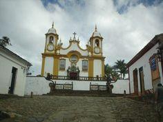 Igreja Matriz Santo Antonio da cidade de Tiradentes, Minas Gerais    Foto: Pedro Andrade