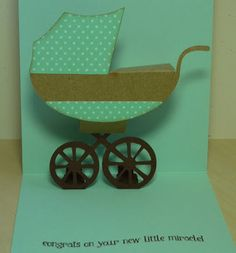 Crafting with Katie: Pop-Up Baby Card with Video