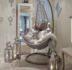 Time to Relax by - Architecture and Home Decor - Bedroom - Bathroom - Kitchen And Living Room Interior Design Decorating Ideas - Girl Bedroom Designs, Room Ideas Bedroom, Home Decor Bedroom, Girls Bedroom, Living Room Designs, Bedrooms, Romantic Bedroom Design, Design Bedroom, Modern Bedroom