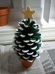 More Pine-Cone Craft Ideas (18 Pics)