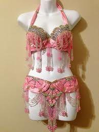 Vintage burlesque costume.