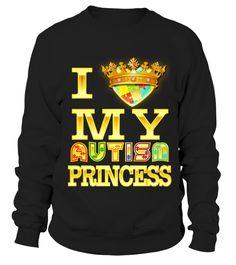 I Love My Princess  #gift #idea #shirt #image #animal #pet #dog #bestgift #cat #bichon #coffemugs #autism
