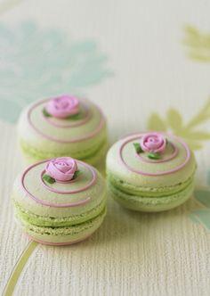 Pistachio macaroons are technically not a red seed .-Pistazien-Macarons sind zwar technisch gesehen kein roter Samtkuchen, aber sie sind immer noc… Pistachio macaroons are technically not a red velvet cake, but they are still … - Macaron Cookies, Cupcake Cookies, Cupcakes, Macaron Cake, Velvet Cake, Red Velvet, Pistachio Macarons, French Macaroons, Mini Cakes