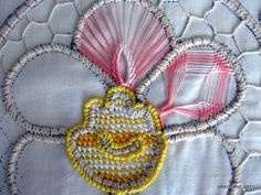 msz Needle Lace, Bobbin Lace, Needle And Thread, Bruges Lace, Romanian Lace, Hairpin Lace, Point Lace, Hair Pins, Tatting