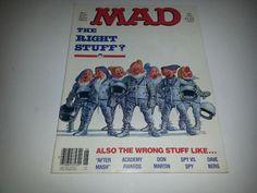 Vintage Mad Magazine No. 247 June 1984 The Right Stuff?