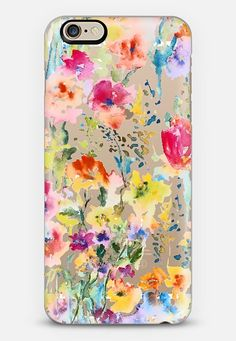 My Garden iPhone 6 case by Pineapple Bay Studio | Casetify