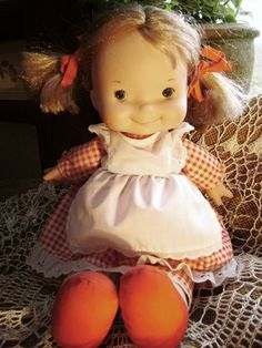 Vintage Doll Fisher Price Lapsitter 200 Blonde by junquegypsy, $21.40