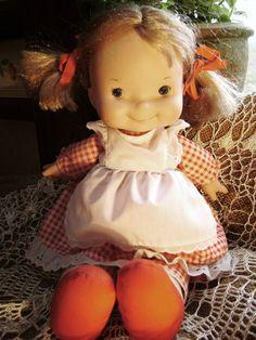 Vintage Doll Fisher Price Lapsitter 200 Blonde