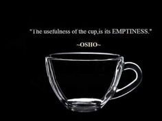 Deep Osho Quotes on Emptiness Images