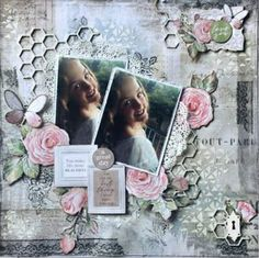 Scrapbook Designs, Scrapbooking Layouts, A4, Projects To Try, Shabby Chic, Writing, Female, Digital, Craft