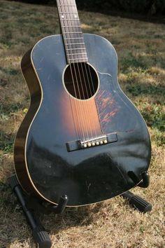 Vintage Kalamazoo KG-11 Senior, 1930's something Gibson Made Acoustic Guitar