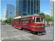 Take advantage of the Free City Circle Tram and travel around the city on Melbourne's burgundy Heritage Tram.