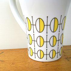 Geometric Mod Vintage Stylecraft Coffee Cup by fifthseason on Etsy https://www.etsy.com/listing/122293024/geometric-mod-vintage-stylecraft-coffee