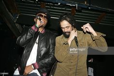 Vocalists Nas (L) and Damian Marley perform in concert at Emo's during the South By Southwest Music Festival on March 17, 2010 in Austin, Texas.