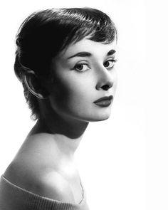 Audrey Hepburn retrato.