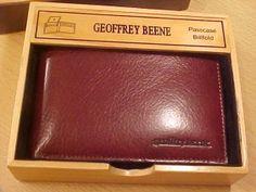 Geoffrey Beene Passcase Billfold New nib