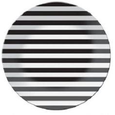 B Dot Stripe 40cm Platter