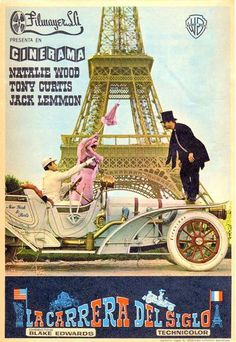 Aventuras y desventuras de los participantes en una carrera automovilística entre Nueva York y París, a principios del siglo XX. Jack Lemmon y Tony Curtis interpretan a dos excéntricos participante…