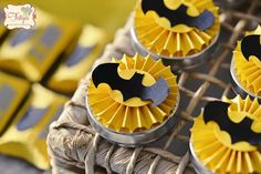 Batman Birthday Party via Kara's Party Ideas | KarasPartyIdeas.com (14)
