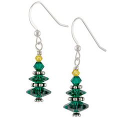Christmas Morning Earrings | Fusion Beads Inspiration Gallery