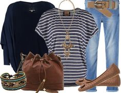 Petite tenue décontractée ! http://stylefru.it/s150096 Retrouvez plus d'inspiration sur stylefruits ! #mode #bleu #septembre