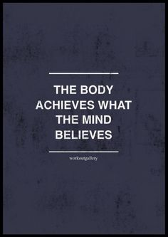 7a3704f3344 Mind over body Mind Over Body, Inspiration Wall, Motivation Inspiration,  Mind Over Matter
