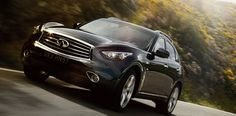 """Infiniti QX70: Jalopnik's Buyer's Guide - The Infiniti QX70 began life at the 2008 Geneva Motor Show, where it debuted as the second generation Infiniti FX. A 2009 model, the """"performance crossover"""" showed the world the wild side of CUVs. The low, sloping roof and the phallic-shaped front end is what Infiniti referred to as a """"fusion of sports car and SUV design."""""""