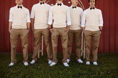groomsmen?
