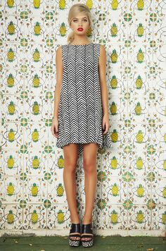 Paso Blanco Sleeveless Tina Dress This would be adorable with ICBs! (Combat boots)