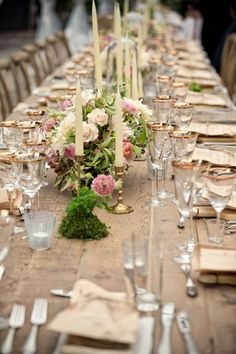 wedding centerpiece idea; photo: Matthew Sowa Photography and  Jorge de la Barra