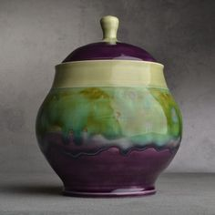 Symmetrical Pottery - handmade (can be ordered with personalized color combos)