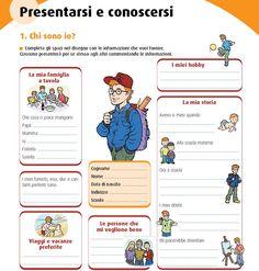 Italian Grammar, Italian Language, Language Lessons, Learning Italian, Writing Skills, Problem Solving, Pixel Art, Activities For Kids, Homeschool