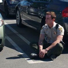 Teen Wolf Season 5 Behind the Scenes Ryan Kelley unknown location 022415