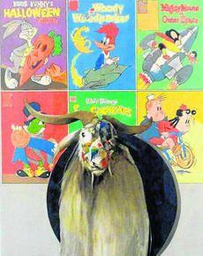 S/T ( Museo ) 2011 Oleo y lápiz / papel Ricardo Cadenas