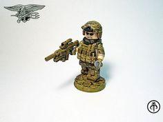 US Navy SEAL Custom Minifigure