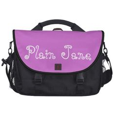 Lavender Plain Jane Commuter Laptop Bag Designed by Test Gallery $191.20