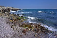 Sea Shore in the Vicinity of Sozopol IV(At the Seaside Resort in Bulgaria, Europe)
