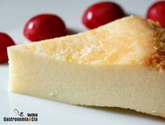 Tarta de queso. Se puede cambiar el queso philadelphia por la misma cantidad de quesitos.