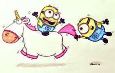 Despicable Me unicorn!!!!