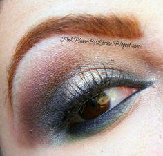Smokey brown eye makeup EOTD