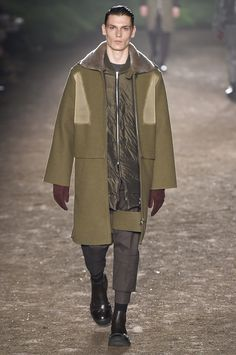 Urban eco warriors with a touch of future utility from Ermenegildo Zegna at Milan Fashion Week